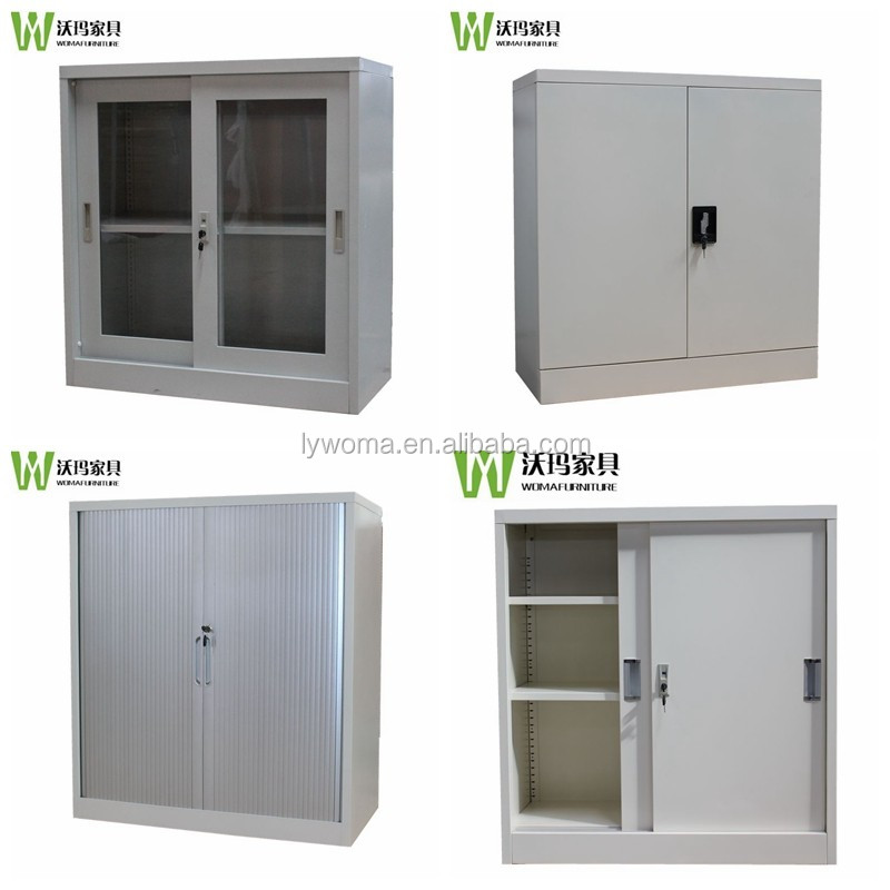 Cheap Lockable Glass Doors Half Height Small Low Metal File ...