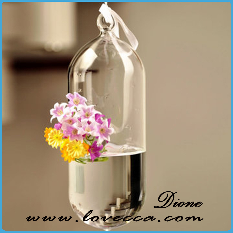 Shine New Age Home Decor Glass Candle Fish Bowl
