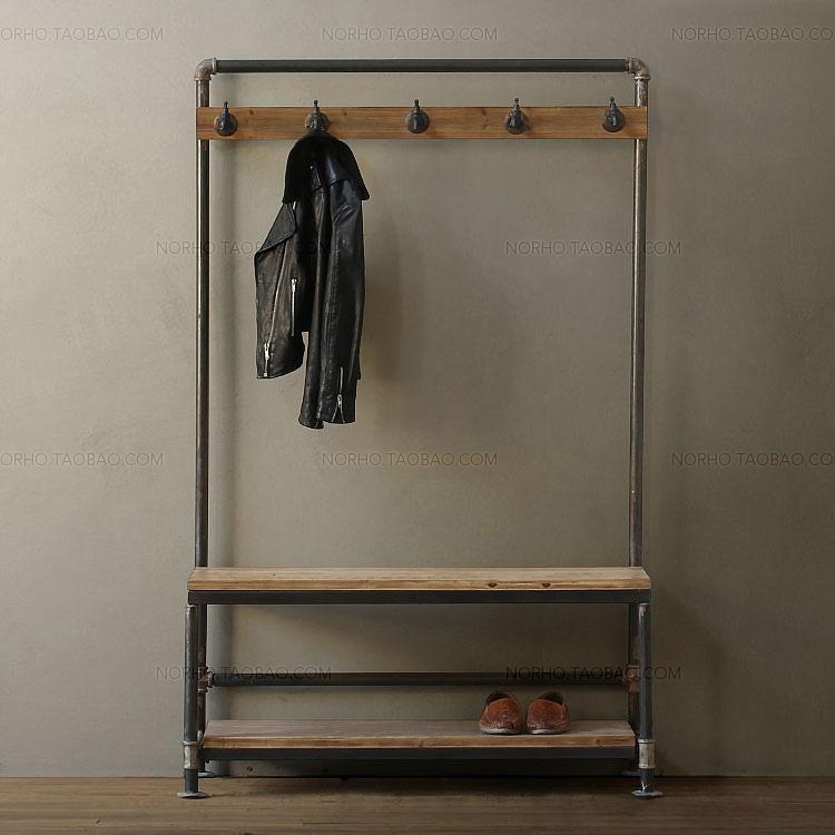 american retro holz haben die alten industriellen rohr. Black Bedroom Furniture Sets. Home Design Ideas