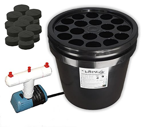 18 Site Aeroponic Plant Cloner - Clone Bucket 2.0 SM 18 Site From Hydro West