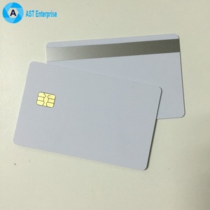 Credit Card Size cr80 contactless smart pvc/plastic card with chip and magnetic stripe