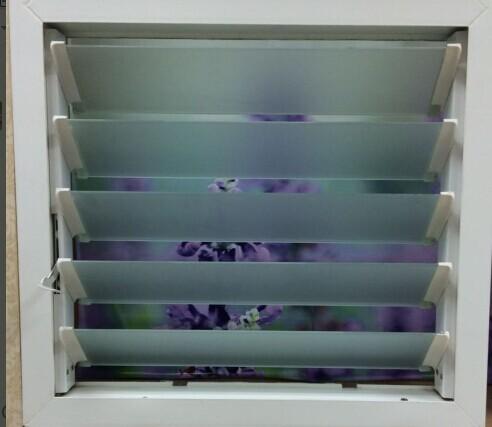 Ba o est ndar tama o de la ventana de perfil de aluminio - Persianas para banos ...