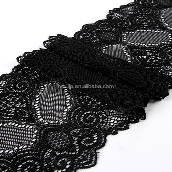 Colourful Free Sample Expensive Black Embroidered Cotton Crochet