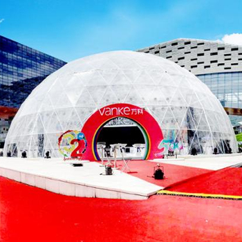 China supplier geodesic dome tent, clear dome tent, transparent dome