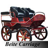 Sulky Horse Cart Marathon Carriages Foe Horses Training Horse Carriage
