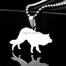 Novelty Design Stainless Steel Pendant Necklace Collar Charm Dog Tags