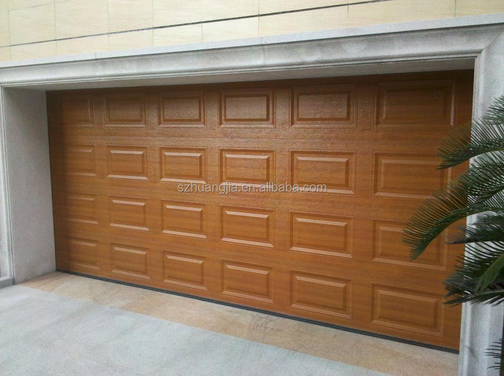 Csa autom tico oem panel s ndwich de madera puertas de for Puertas de madera para garage