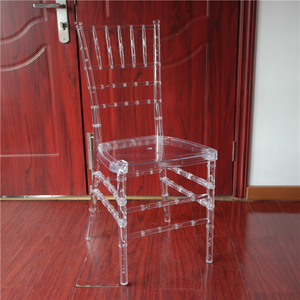 wholesale rental transparent plastic tiffany chiavari napoleon chairs clear YC-A254
