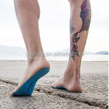 Wholesale Barefoot Beach Invisible Shoes, Portable Foot Stickers Men & Women General Waterproof Non Slip Adhesive Feet Pad