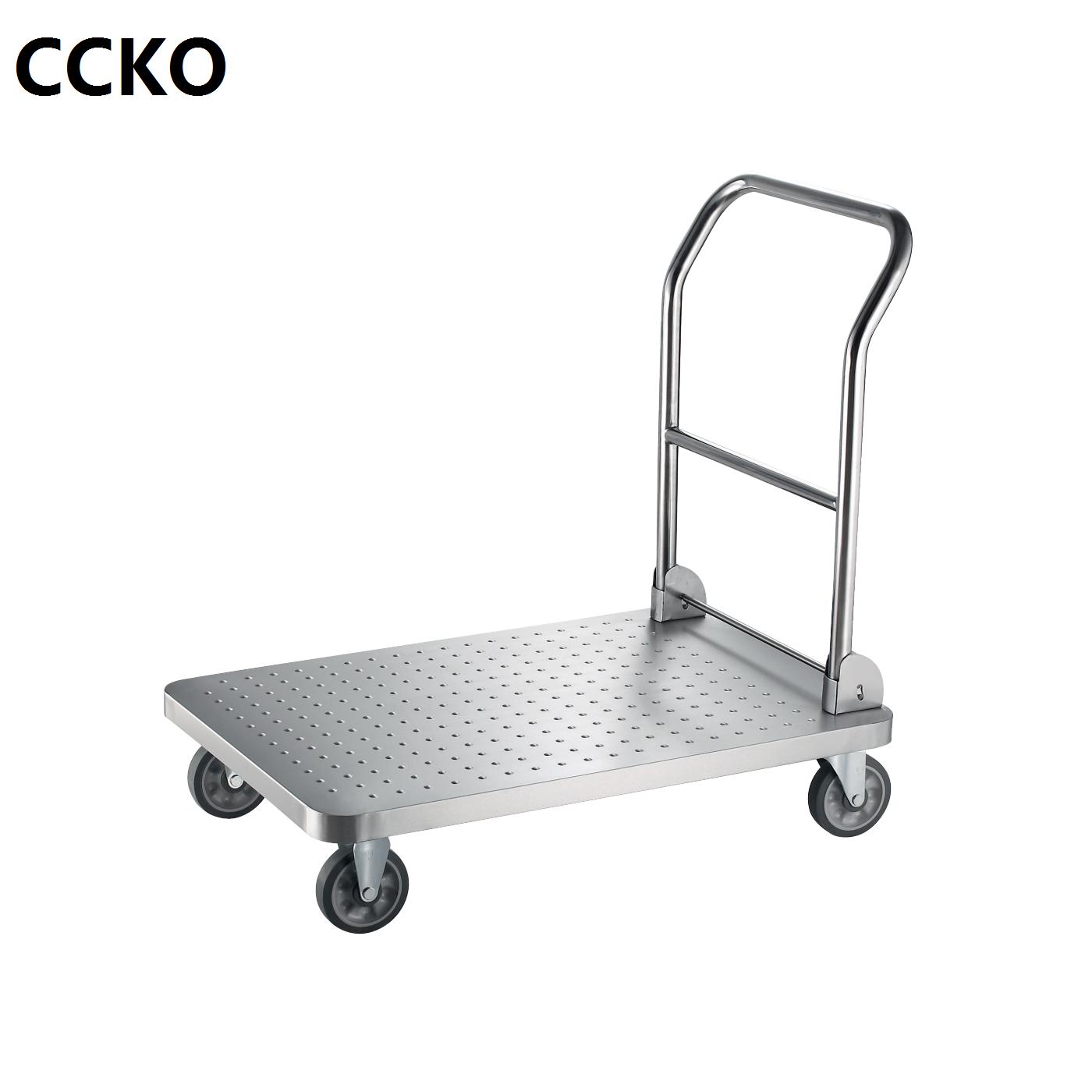 Foldable Four-wheel Hand Cart/ Hand Truck/ hand buggy