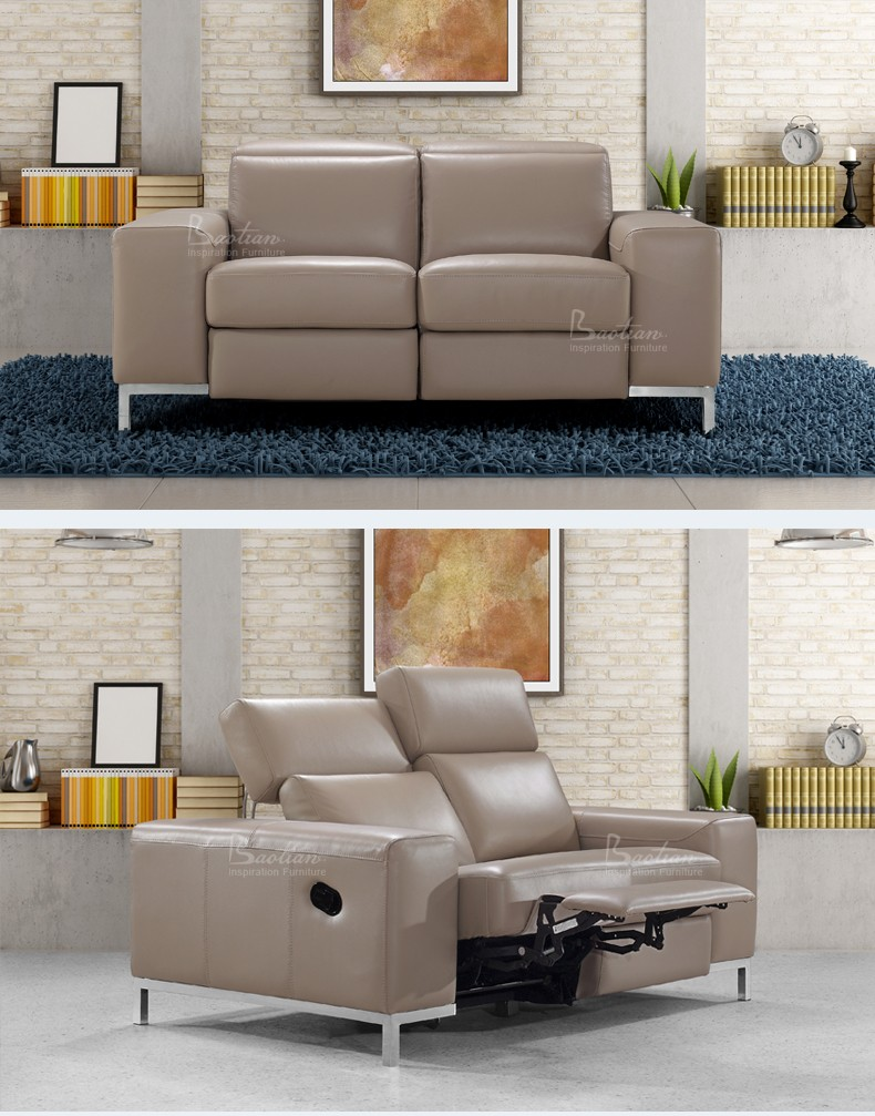 European Design Recliner Sofa Cinema Chair For Home Living
