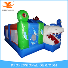 Funny Ocean Theme Inflatable Fun City,Inflatable Shark Combo
