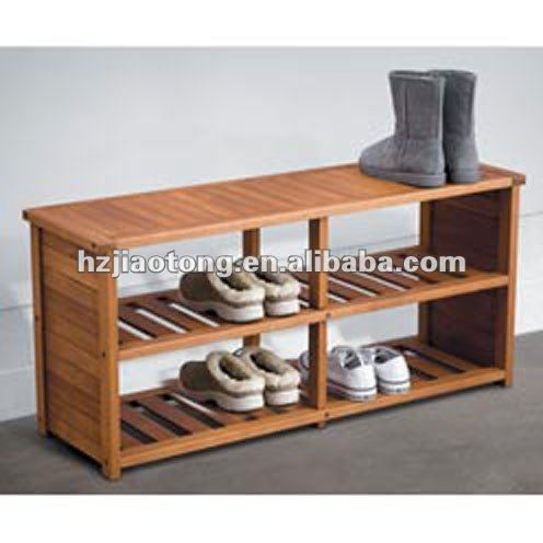 Wood Shoe Rack Wooden Antique Bench Commercial Racks Product On Alibaba Com