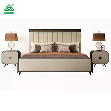 Su misura Moderno Hotel Room Furniture Set/5 Stelle <span class=keywords><strong>Mobili</strong></span> Letto