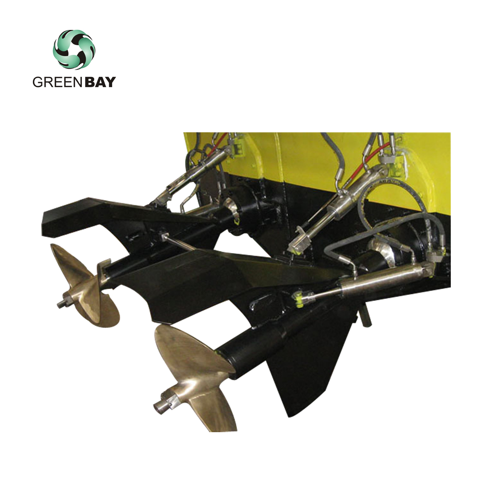 China surface drive MSD 500 Propulsion system Thruster Fast boat piercing  Propeller, View marine Surface drive, Product Details from Wuhan Greenbay