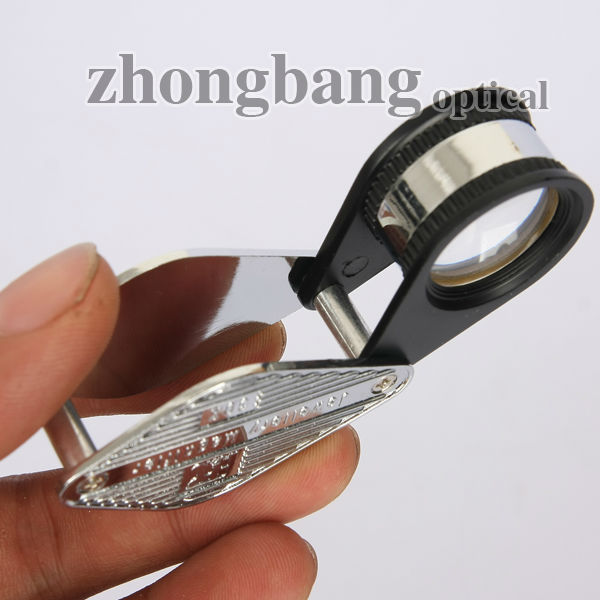 30x Fashion Folding Pocket diamond eye loupe