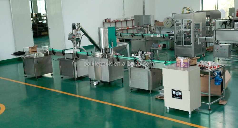 Shanghai manufacturer powder filling and sealing machine full automatic with PLC controlled