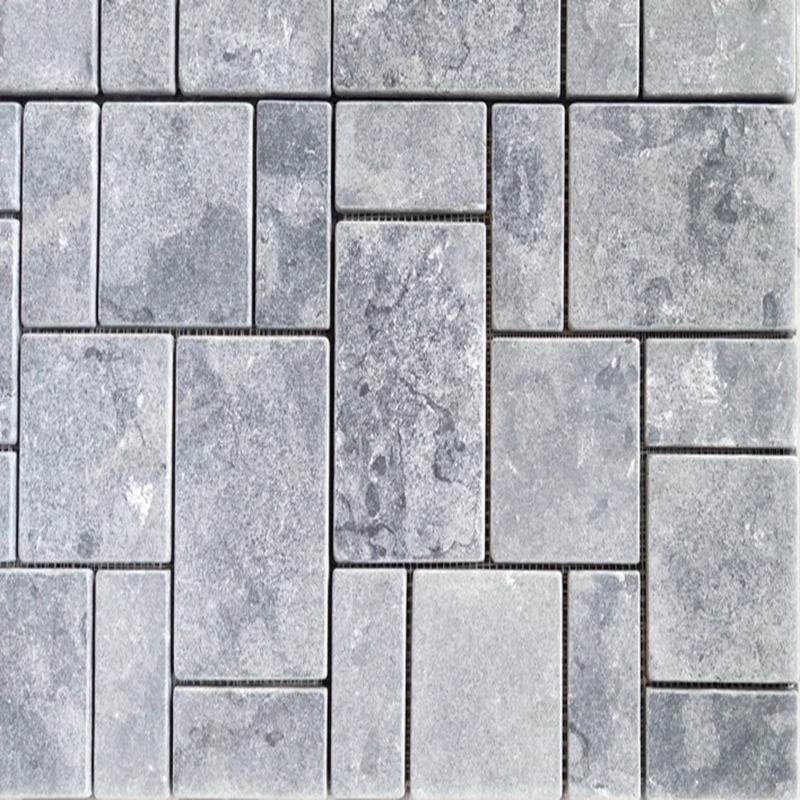 <strong>white</strong> brown limestone paving stone mosaic , stone mosaic marble arabic mosaic , pattern <strong>pebble</strong> mosaic paving