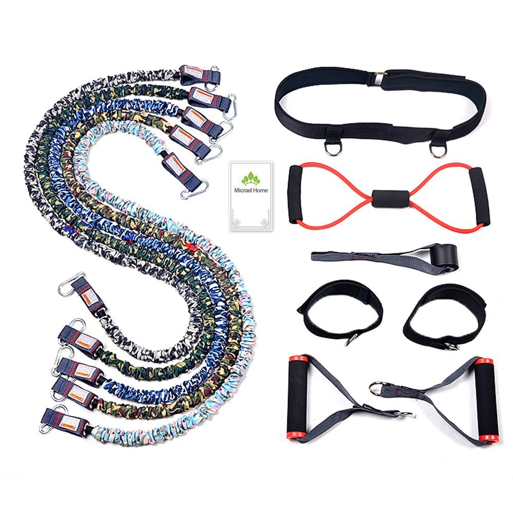 Cheap Power Exercise Bands Find Deals On Line Body Gym Ankle Strap Resistance Get Quotations Micrael Home Heavy Duty Set Including Non Snap Safe Door Anchor