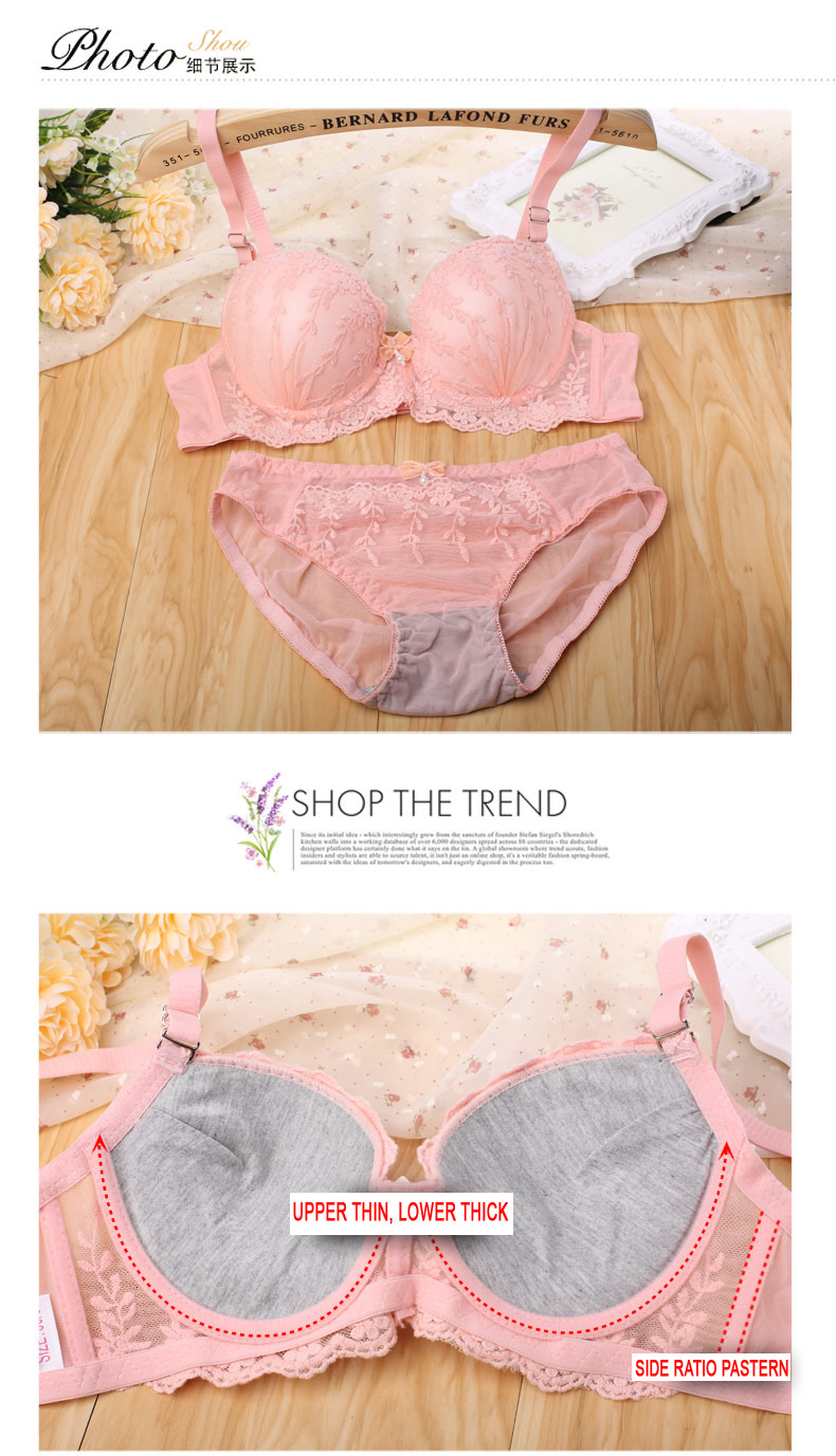 Super sexy girls hot top design women wholesale fancy net bra panty