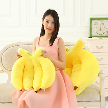 Interesting And Cute Big Banana Large Funny Plush Pillow Stuffed Toy