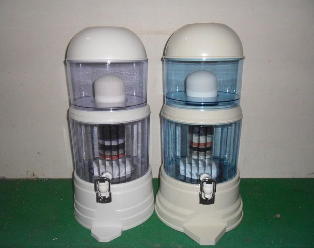 Water Filtration Dispenser 18l Best Selling Carbon Ceramic Alkaline Mineral Pot Water Filter