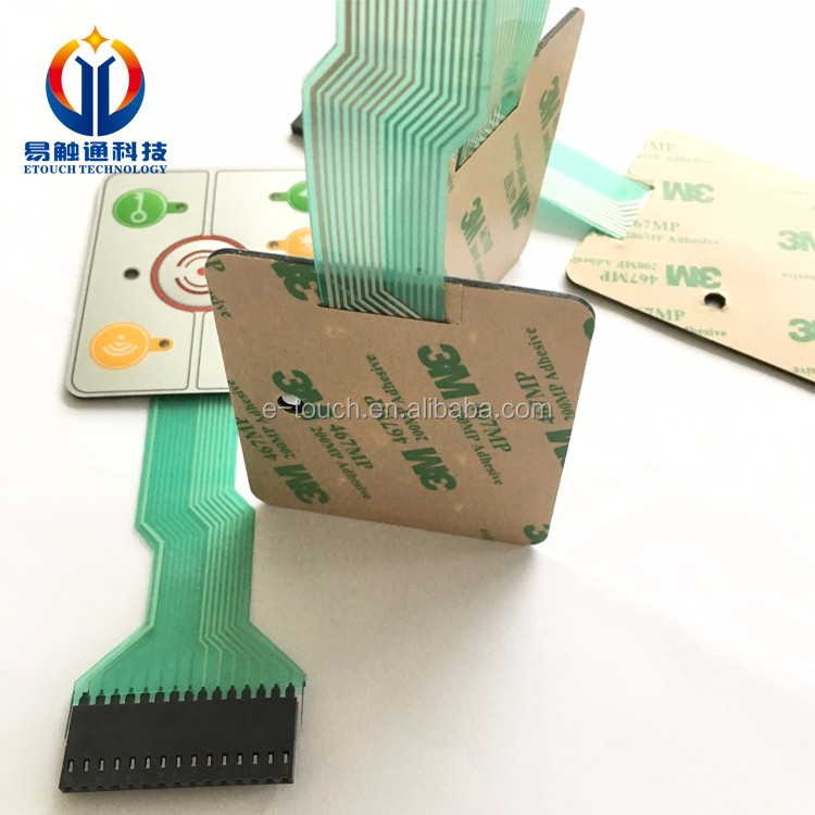 Metal Dome Switch Tactile Membrane Switch Used In
