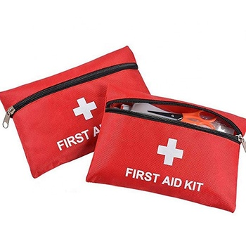 First Aid Kit 2 Pack Portable Medical Emergency Kit Bag for Car Home Survival Travel