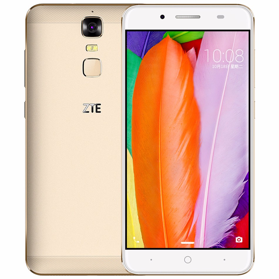 "ZTE Blade A2 Plus 5,5 ""FHD 1920x1080 Octa-core 5000 mAh Reverse-Charge 3G RAM 32G ROM Android 6.0 Fingerabdruck handy"