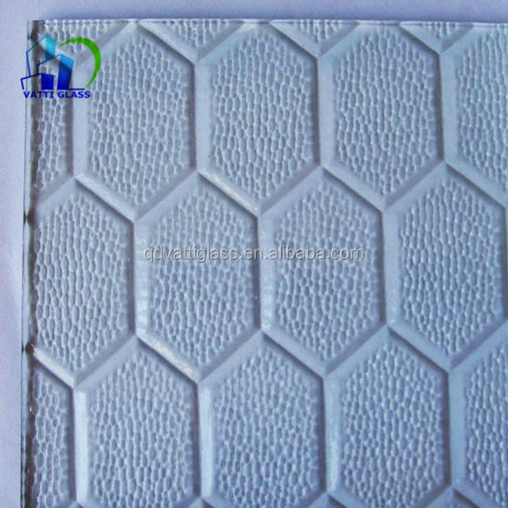 Padrão claro de vidro padrão de vidro padrão de vidro geada