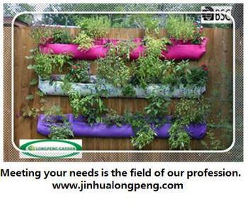 Felt Fabric Living Wall Planter Vertical Garden,Woolly Pocket Planter Bag