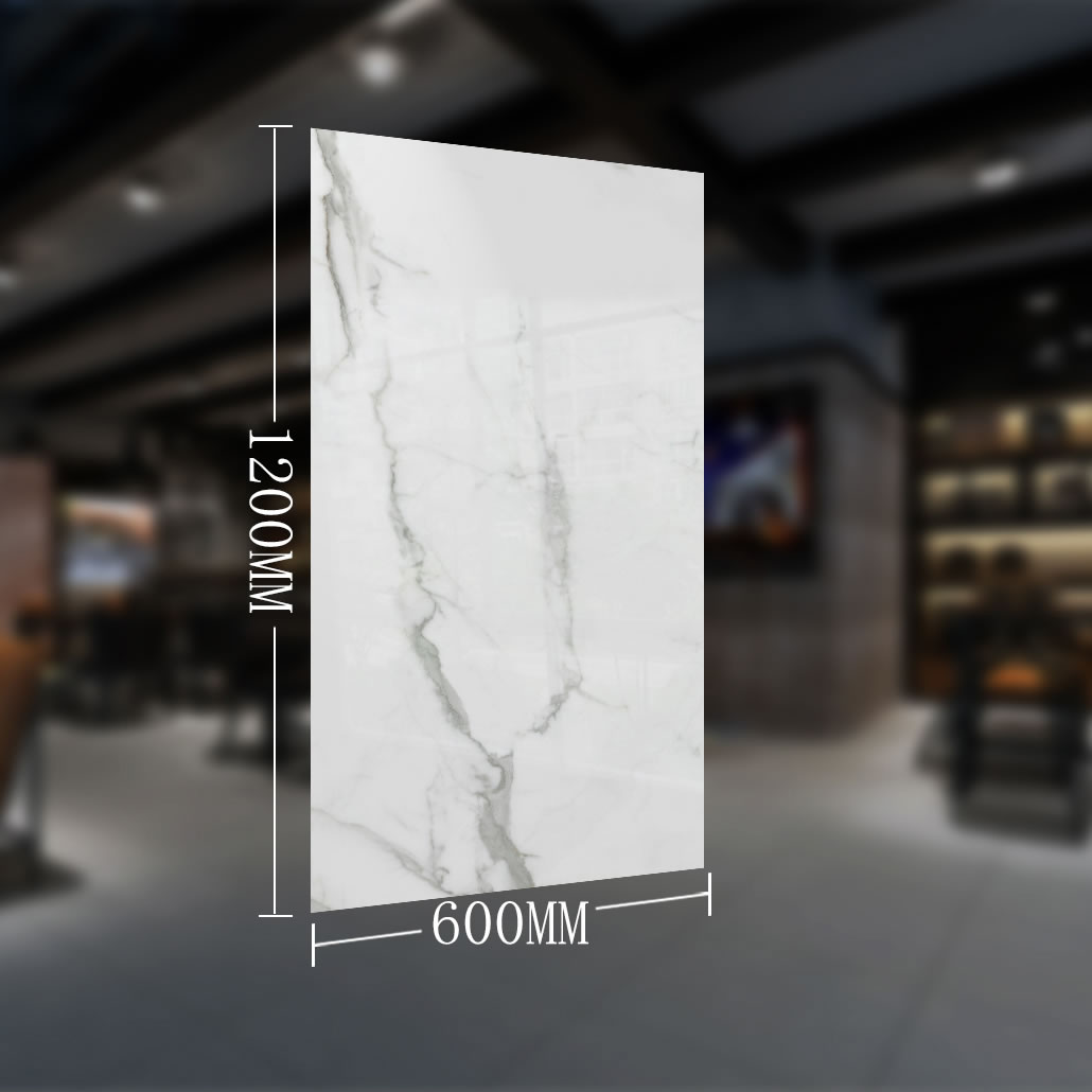 china super dünne marmor porzellan bodenfliesen 1200x600x5,5mm dünne