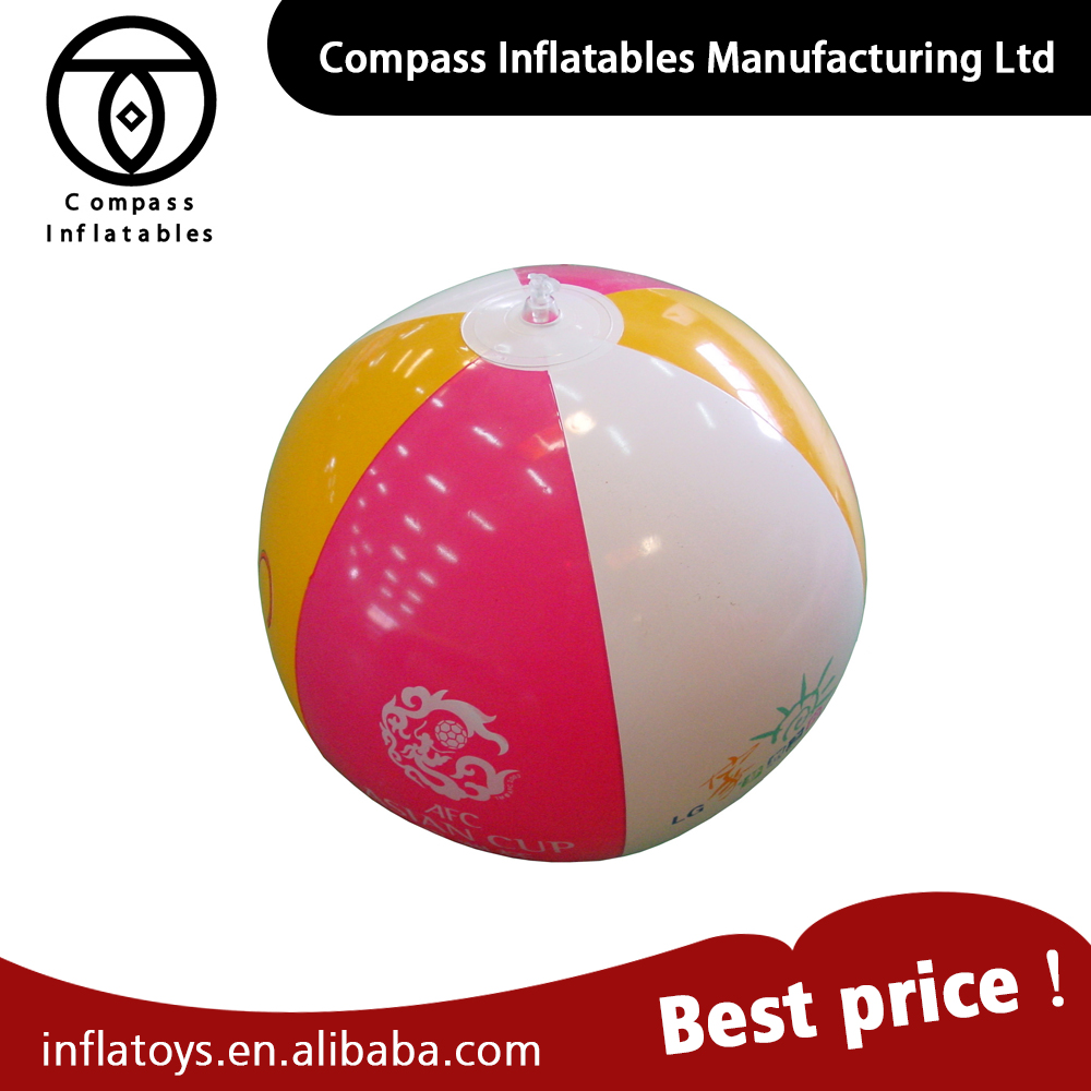 Make In China Beach Water Pvc Inflatable Ball