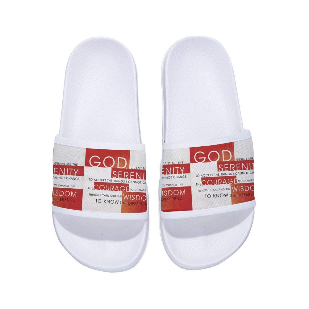 fa44bb0b104b Get Quotations · GordonKo Mens Slide Sandal Anti-Slip Bathroom Shower Pool  Swimming Slippers Shoes