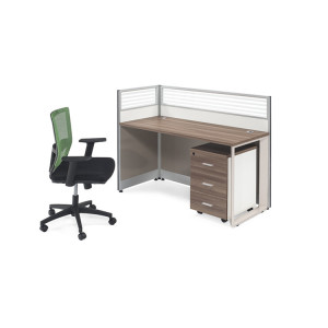 Cheap modern business pro computer desk workstation used office furniture