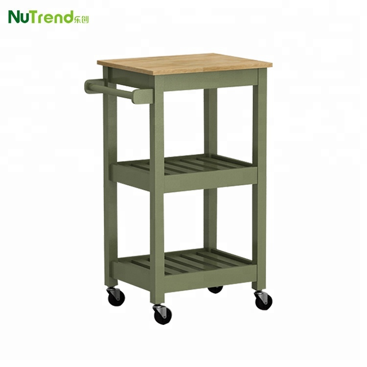 Narrow Small Wood Furniture Prices Cart Kitchen trolley on Wheels, View  kitchen carts on wheels, Nutrend Product Details from Fujian Nutrend  Furniture ...