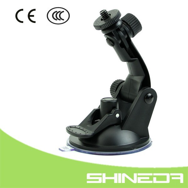 Shineda Amazon FBA service for gopro 1/4 screw Car Suction Cup Mount