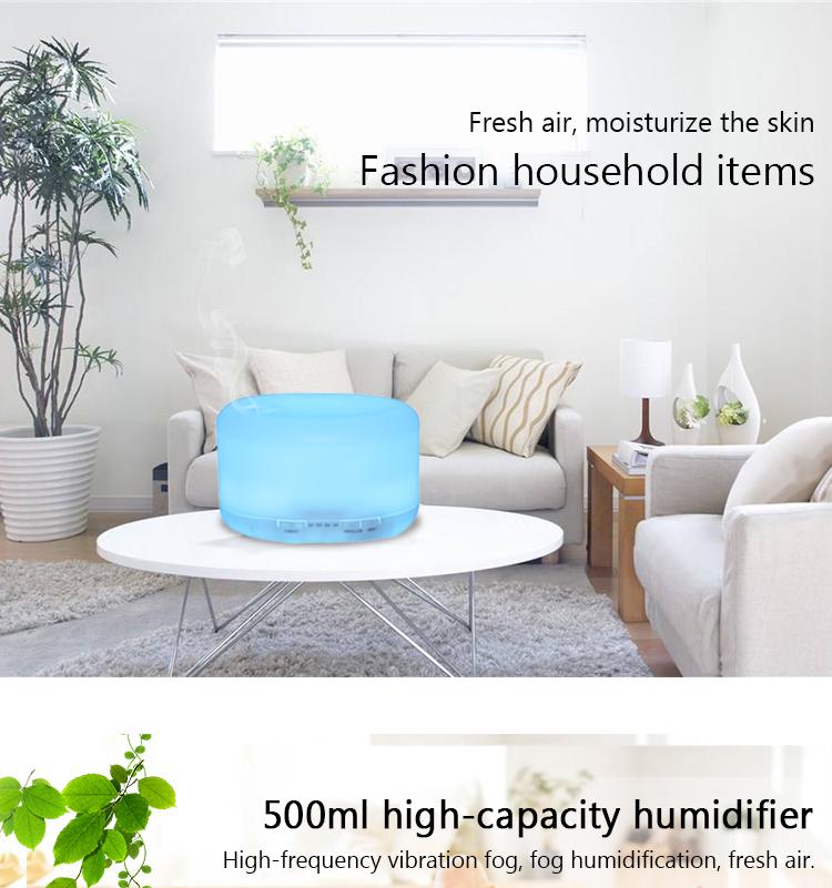 Ultrasonic Wave Aroma Diffuser Humidifier Air Purifier
