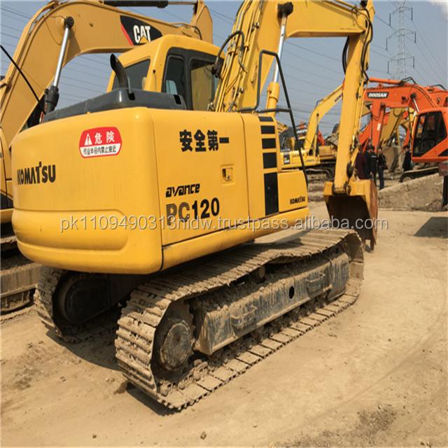 Used Komatsu PC120 Excavator for sale, Japan Komatsu 120-6 Excavator Price New
