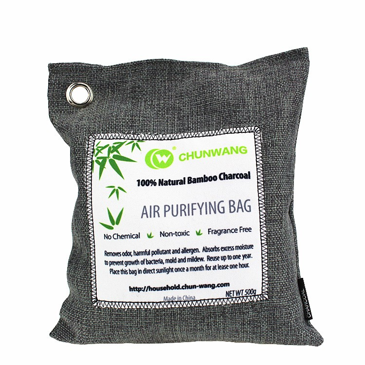 air charcoal natural odor purifier bag absorber 200g