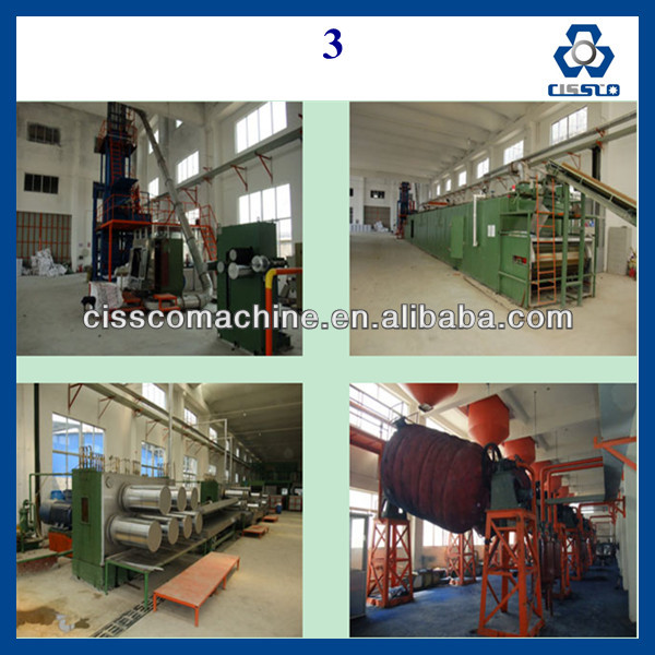 Nonwoven Machinery Hard Fiber Production Line,PVC Fiber Refinance Pipe production line/polyester fiber production line