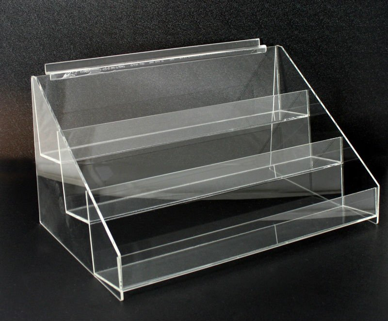 Acrylic T-shaped Sign Display Holder (stand / Shelf )