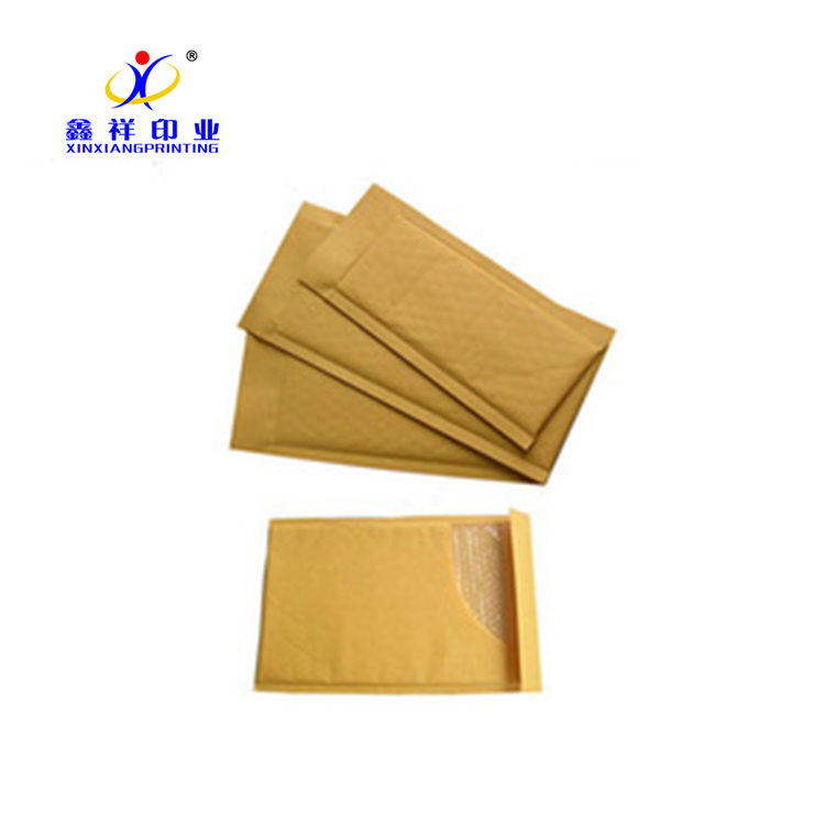 Custom logo printing cheap padded envelopes