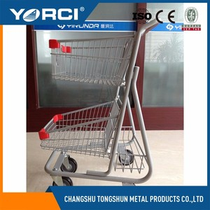 Supermarket shopping cart/children trolley Supermarket Retail Shopping Cart/trolley