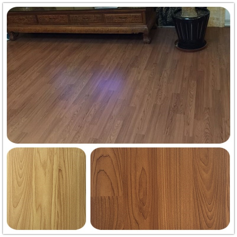 Hot selling vinly floor promotional 10 years life quality for Pvc laminate flooring