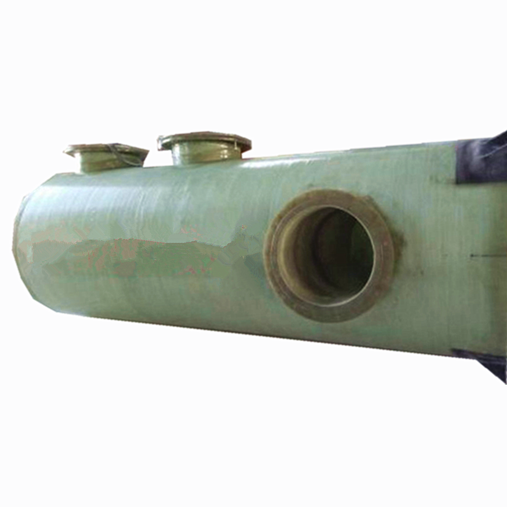 ISO9001 CE certificated FRP packless spray absorption gas scrubber gas treatment system