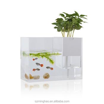 Multifunction Acrylic Flower Pot Fish Aquarium Tank Buy Acrylic