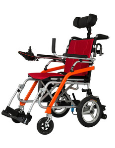Professional manufacturer made in China lighting folding power wheelchair for disabled person