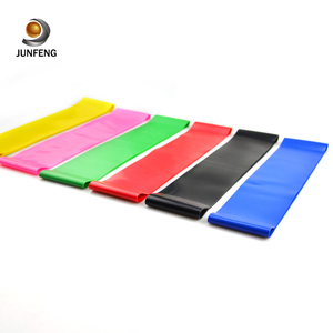 2018 big 5 resistance bands 1/4 and custom resistance exercise band