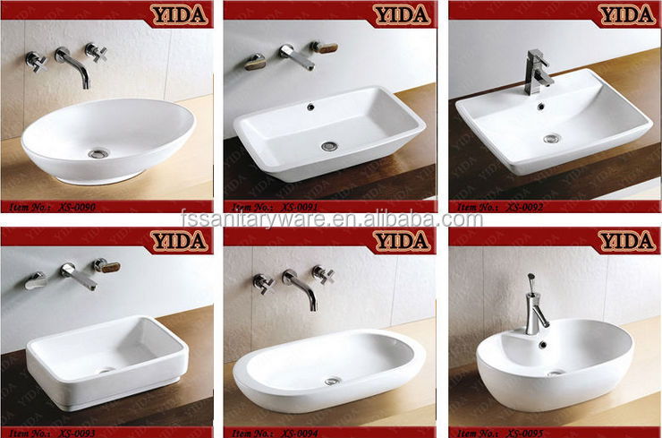 China Ceramic Art Basin Washbasins Bathroom Sinks Prices Toto Wash Basin